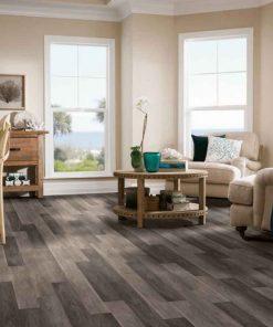 Castletown Rigid Core - Carbonized Gray Room Scene