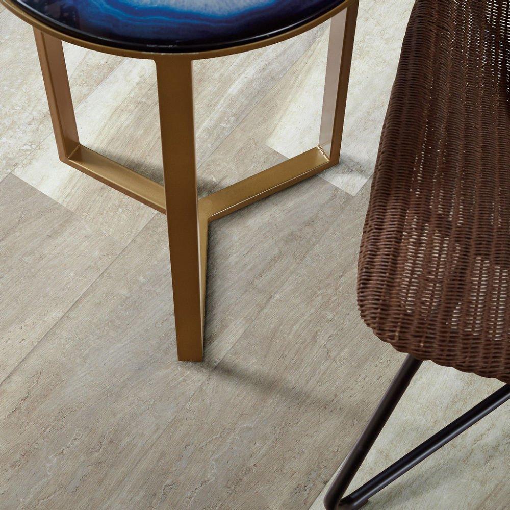 Alabaster Oak 00117 Full Room - Shaw LVP - Endura Plus