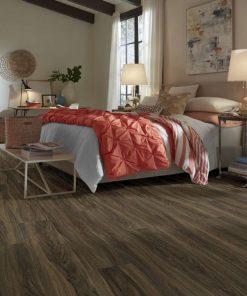 Cinnamon Walnut 00150 Full Room - Shaw LVP - Endura Plus