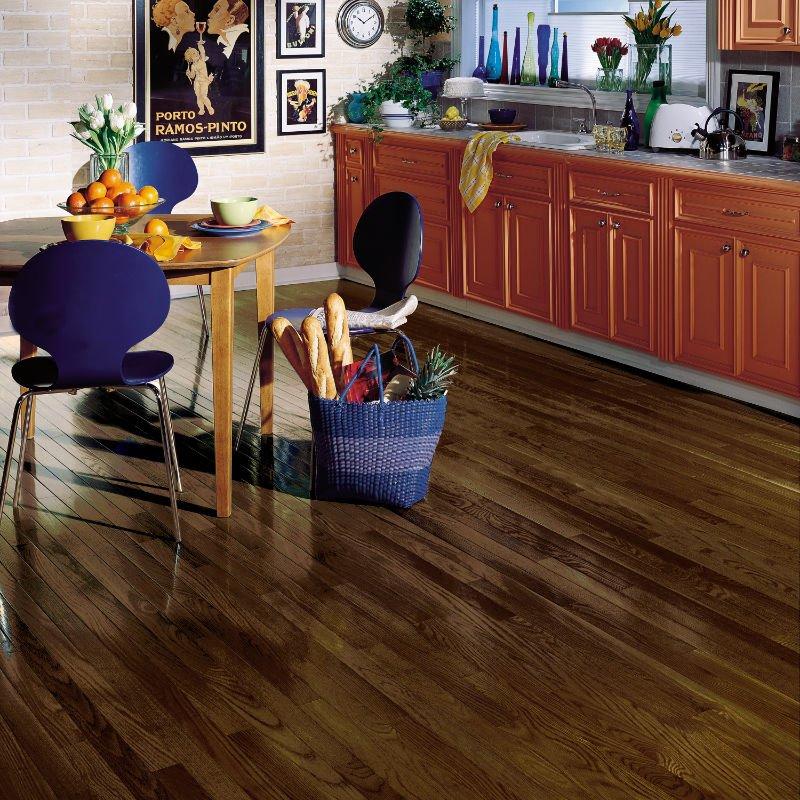 Mocha CB277 Full Room - 2 1-4 Inch Strip - Bruce Dundee Hardwood